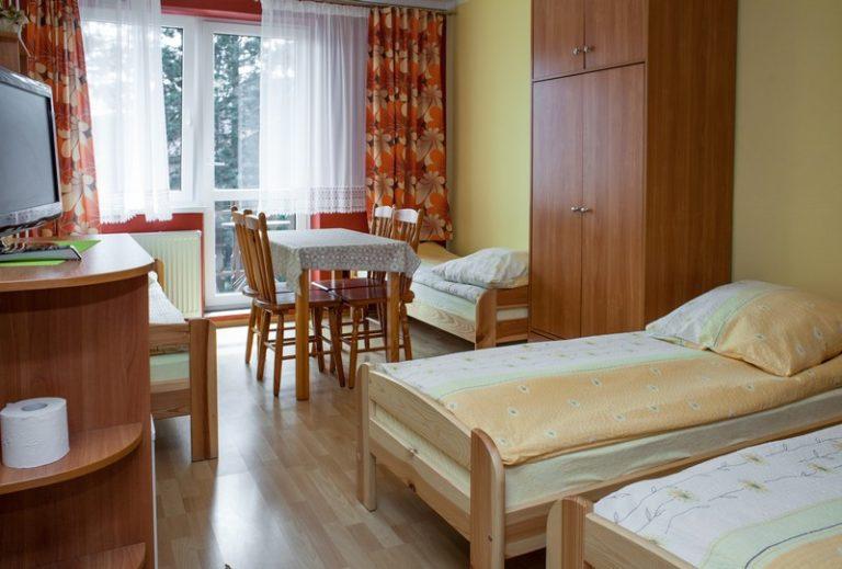 pokój dla czterech osób blisko plaży we Władysławowie
